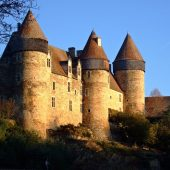 Culan, Castles in France