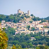 Grimaud, Castles in France