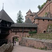 Haut-Koenigsbourg, Castles in France