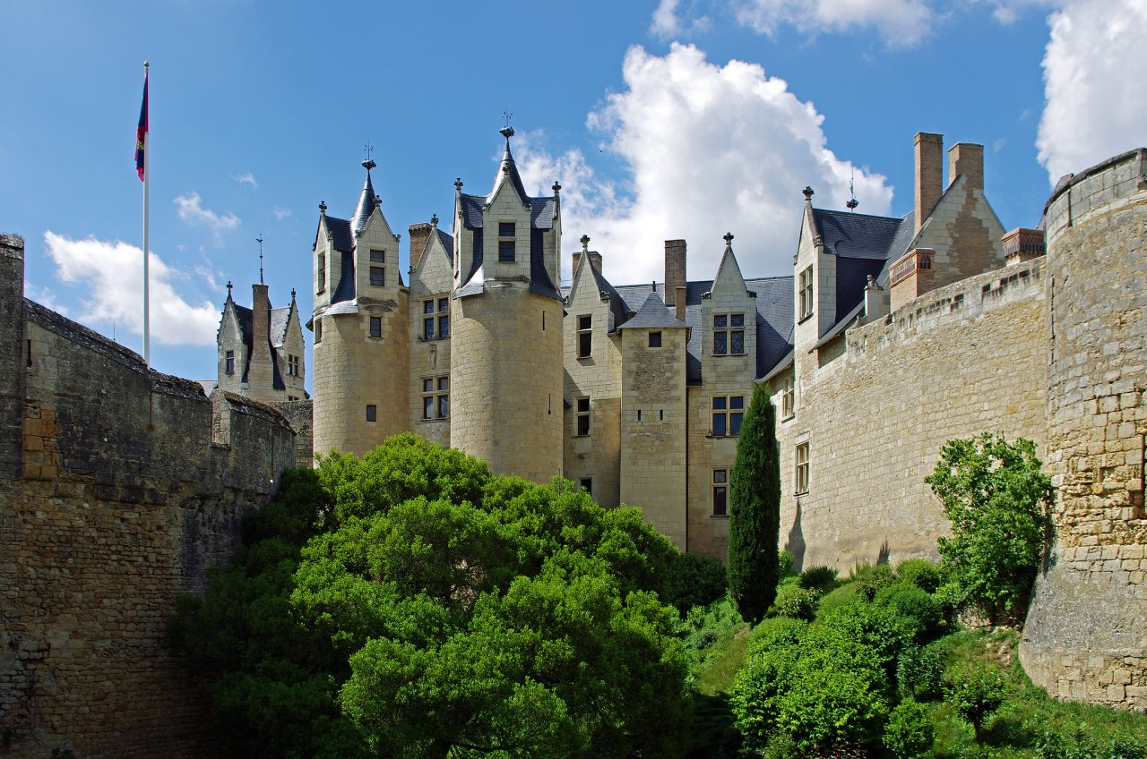 Montreuil-Bellay, Castles in France