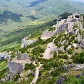 Peyrepertuse, Castles in France