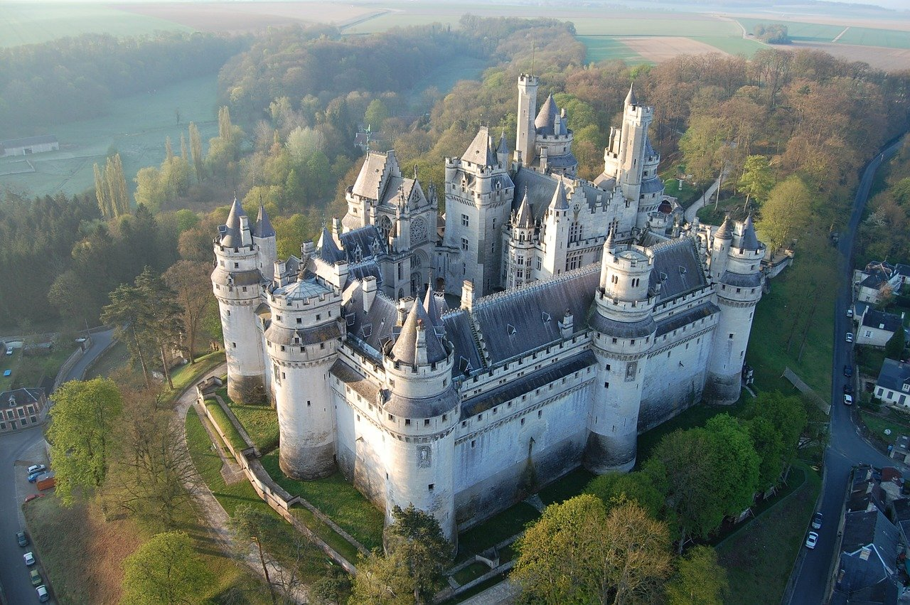 Pierrefonds, Castles in France
