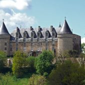 Rochechouart, Castles in France