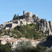 Sisteron, Castles in France