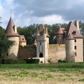 Thoury, Castles in France