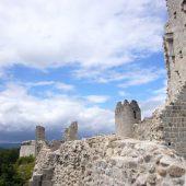 Ventadour, Castles in France