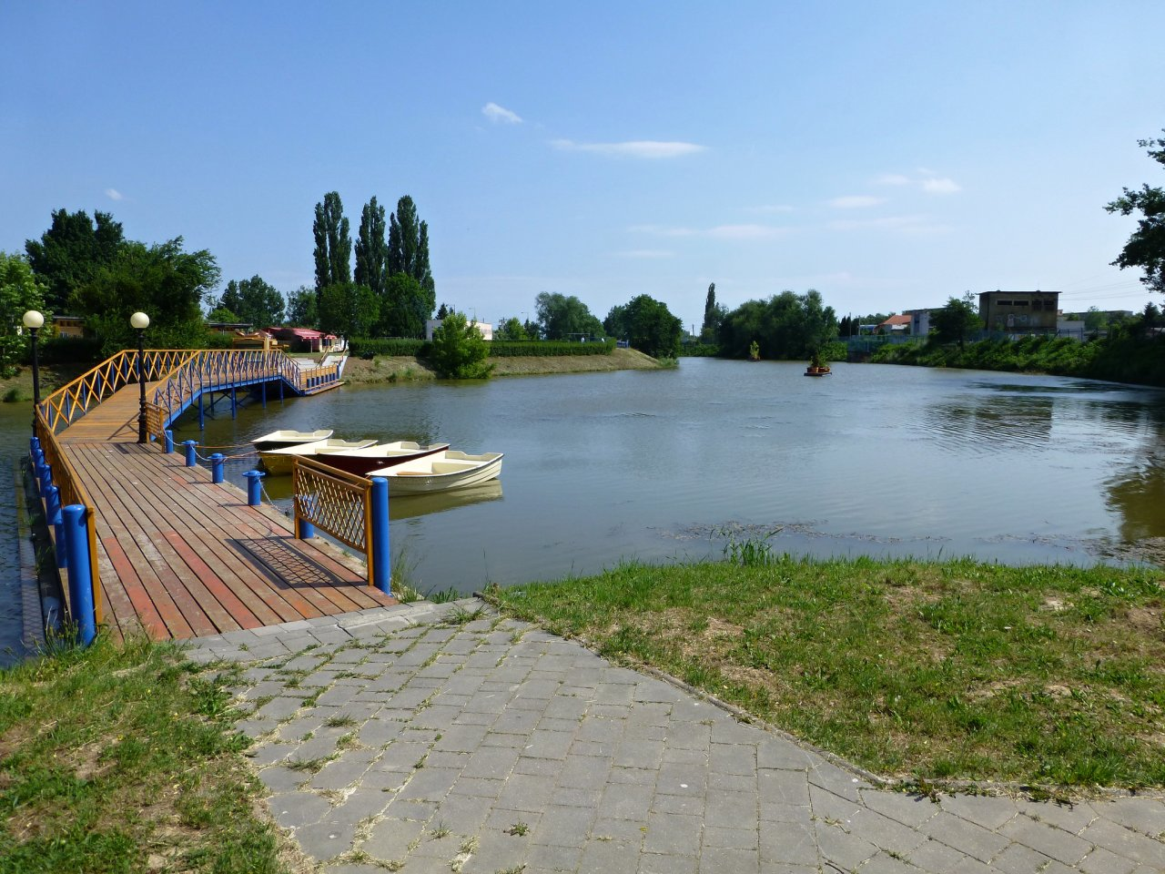 Anicka Recreational Area with Boating, Kosice, Slovakia