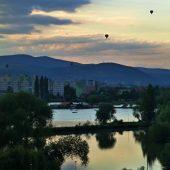 Balloon fiesta in Kosice Slovakia