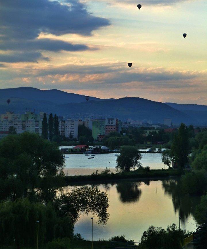 Balloon fiesta in Kosice, Slovakia