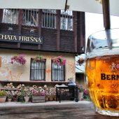 Chata Hrešná and Bernard beer, Kosice, Slovakia