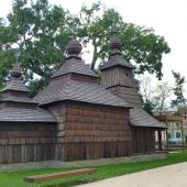 Greek Catholic Wooden Church at East-Slovakian Museum's Yard, Things to do in Kosice, Slovakia