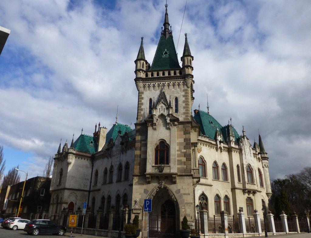 Jakab's Palace, Kosice, Slovakia