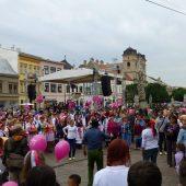 Kosice - dancing Karicka, Slovakia