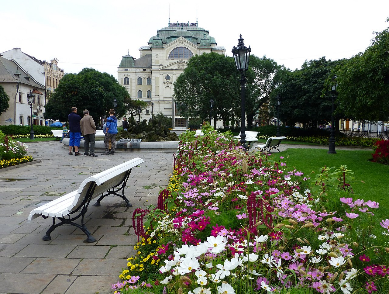 Park with a Fountain with Zodiac Signs, Things to do in Kosice, Slovakia