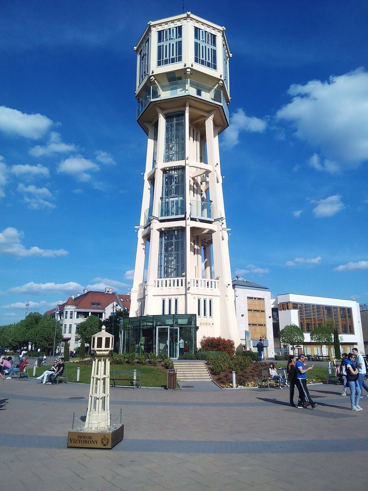 Siofok Water Tower, Places to Visit in Hungary