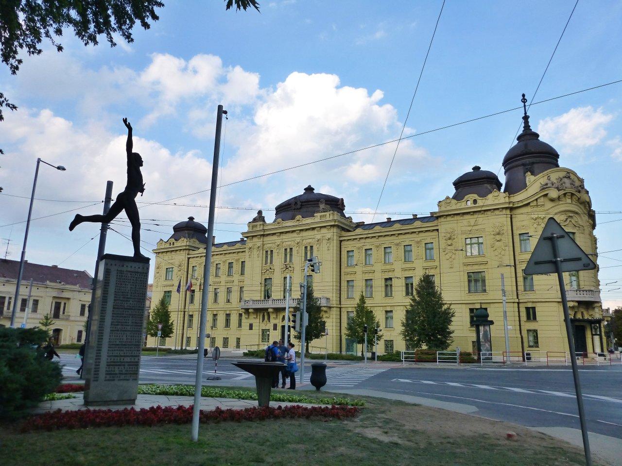 The seat of the Kosice Self-governing Region, Kosice, Slovakia