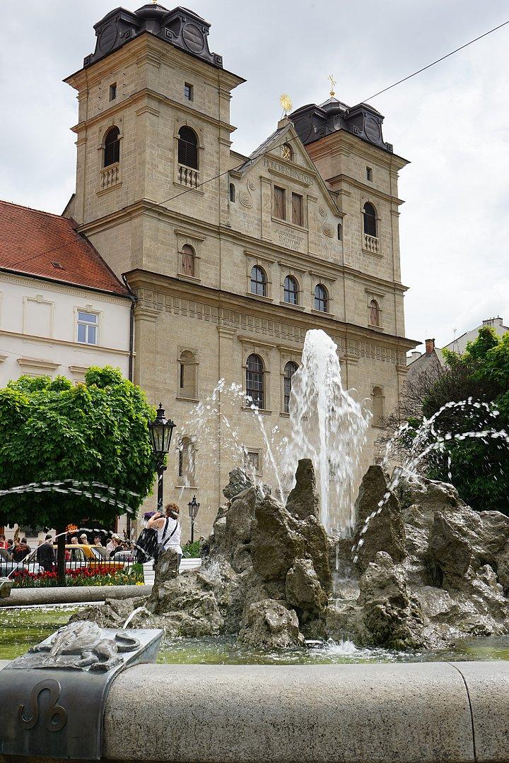 University church in Kosice, Slovakia