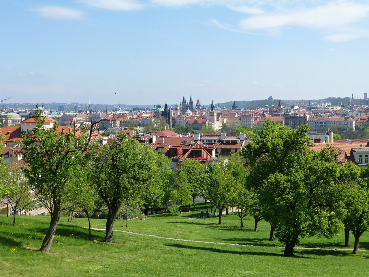 A view of Prague from Petrin hill, What to do in Prague