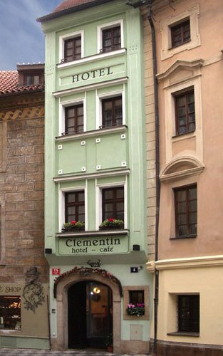 Hotel Clementin – the narrowest house in Prague