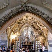 Ossuary, Cemetery Church, Kutna Hora, Czech Republic
