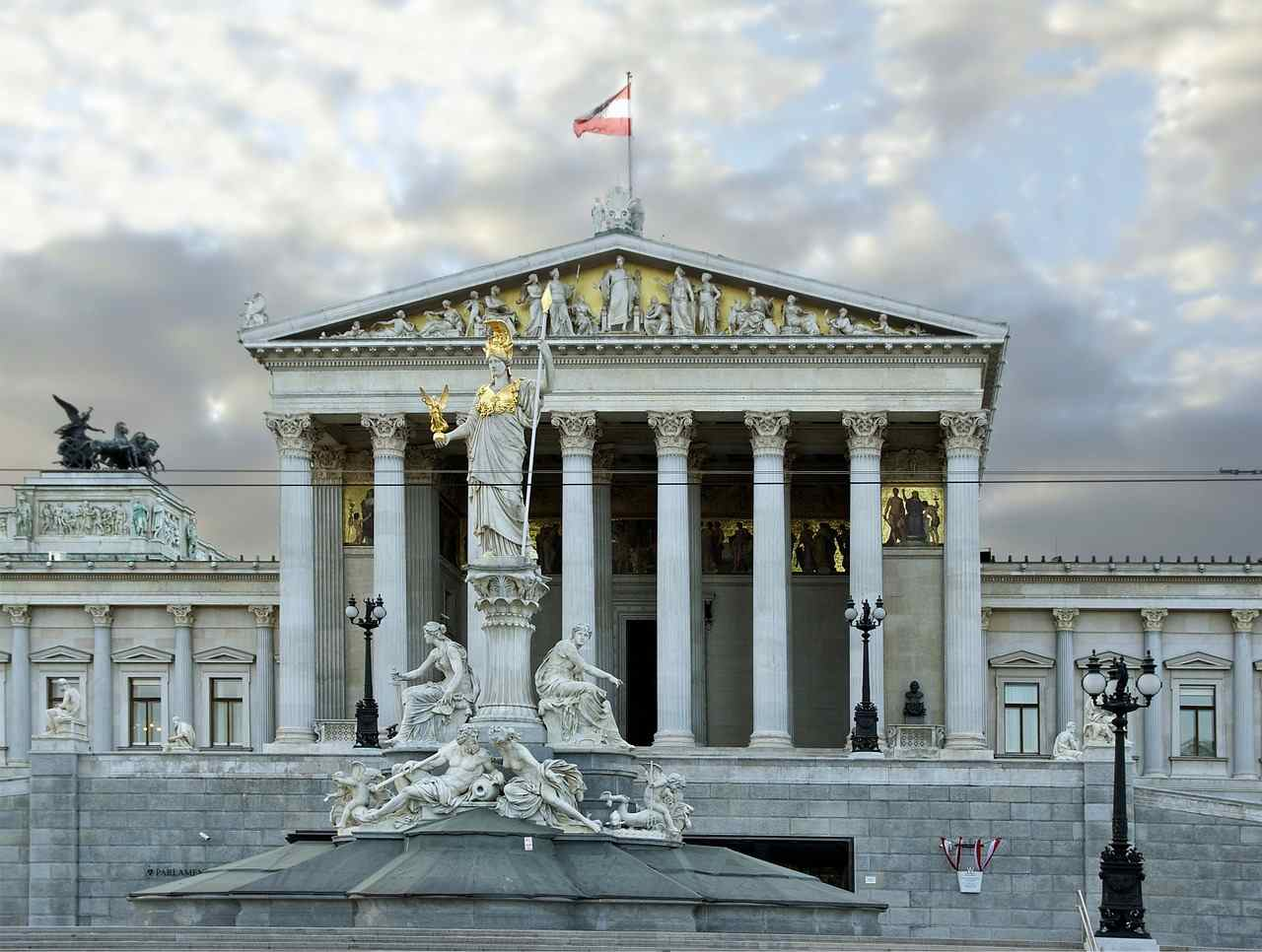 Parliament Building, Best Places to Visit in Vienna