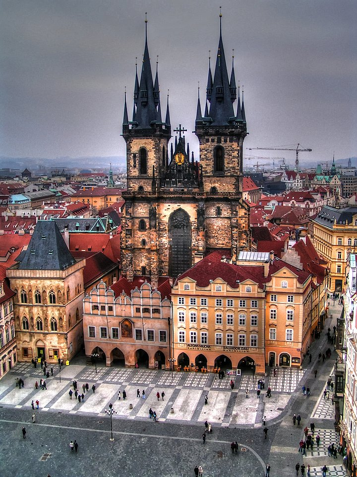The Church of Our Lady Before Tyn, What to do in Prague