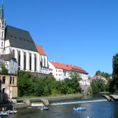 The Church of St. Vitus, Cesky Krumlov, Czech Republic