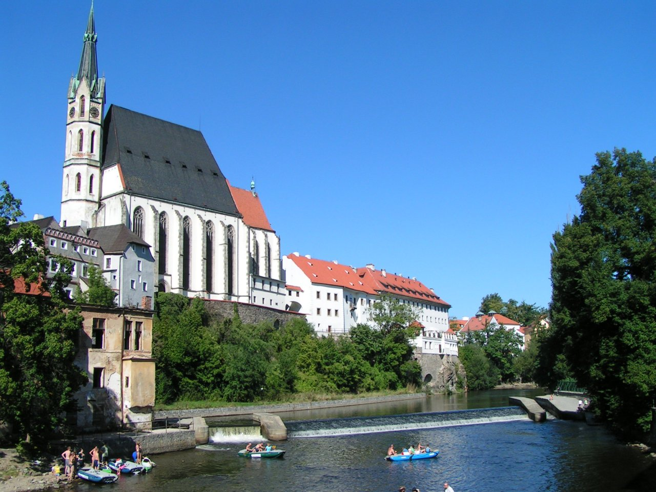 The Church of St. Vitus, Cesky Krumlov, Czech Republic
