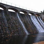 Dam on Lomnica, Karpacz, Poland