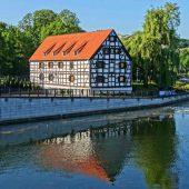 Granaries by the Brda, Bydgoszcz, Poland