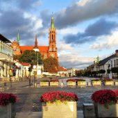 Kosciuszko Market Square, Bialystok, Poland