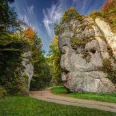Krakow Gate, Ojcowski National Park, Poland