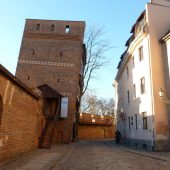 Leaning Tower in Torun, Poland