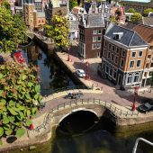 Madurodam - a miniature city in Scheveningen, The Hague, the Netherlands