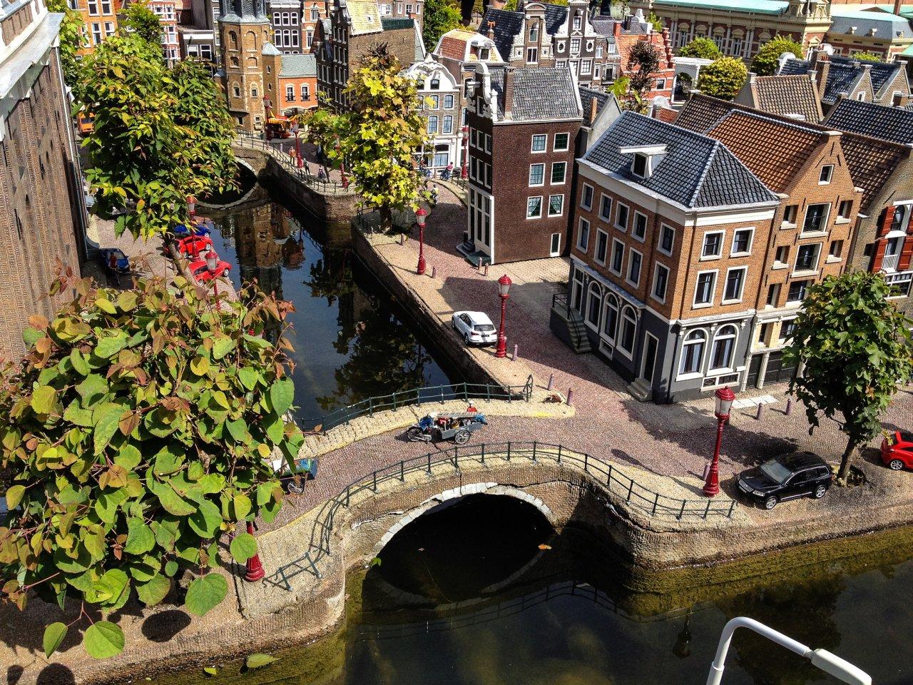 Madurodam – a miniature city in Scheveningen, The Hague, the Netherlands