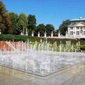 Multimedia fountain Rzeszow, Poland