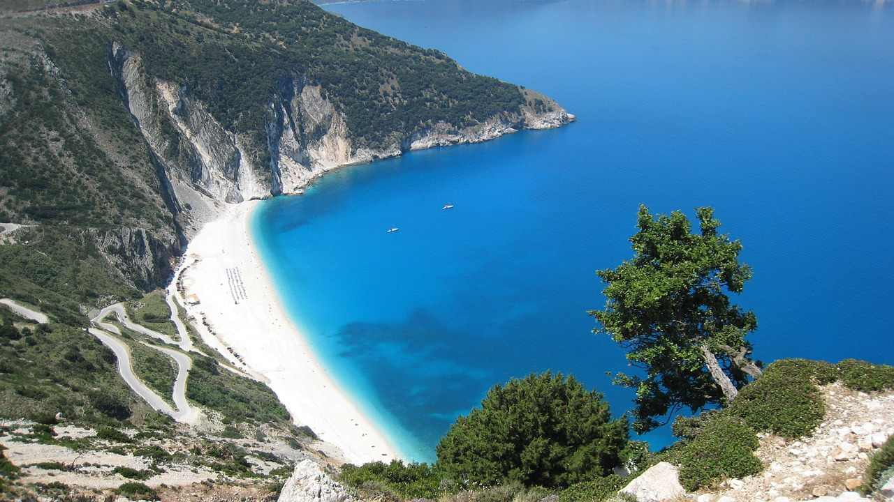 Myrtos, Kefalonia, Greece Beaches