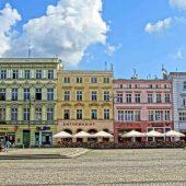 Old Market Square, Bydgoszcz, Poland