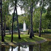 Planty Park, Krakow, Poland