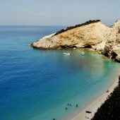 Porto Katsiki, Lefkada, Greece Beaches