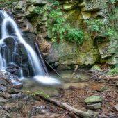 Rodla Waterfalls, Wisla, Poland