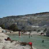 Sarakiniko, Milos, Greece Beaches