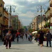 Sienkiewicz Street, Kielce, Poland