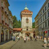 St Florian's Gate, Krakow, Poland