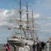 """Statek-muzeum """"Dar Pomorza"""", Gdynia, Poland"""