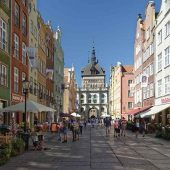 Trakt Królewski (Royal Way), Gdansk, Poland