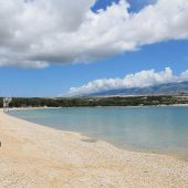 Beach Zrce, Novalja, Best Beaches in Croatia