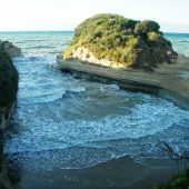 Canal d'Amour, Corfu, Greece Beaches