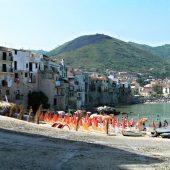 Cefalu beach, Sicily, Italy Beaches
