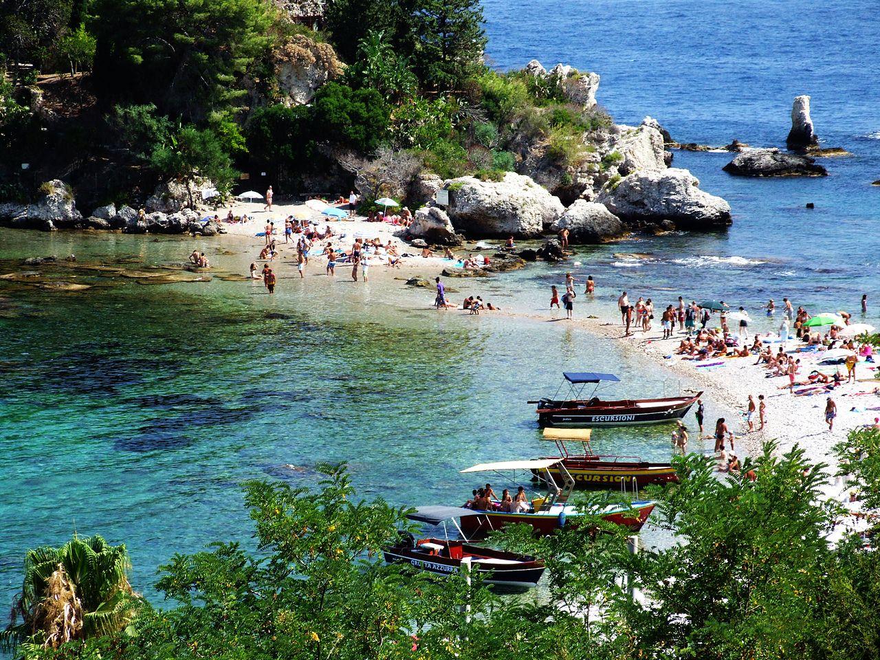 Isola Bella, Sicily, Best Italy Beaches
